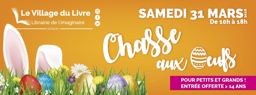 31 mars 2018 – Chasse aux oeufs !