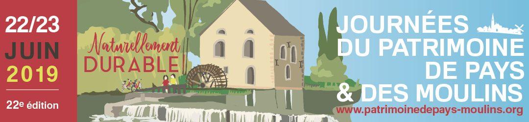 Le patrimoine des moulins à l'honneur les 22 et 23 juin