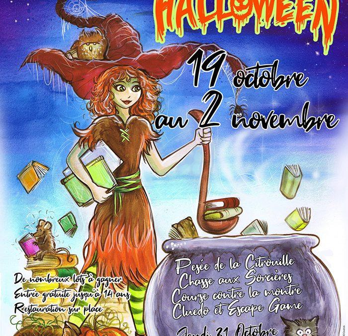 Le village du livre fête Halloween du 19 octobre au 2 novembre 2019