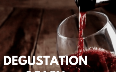 Dégustation de vin au Village du Livre